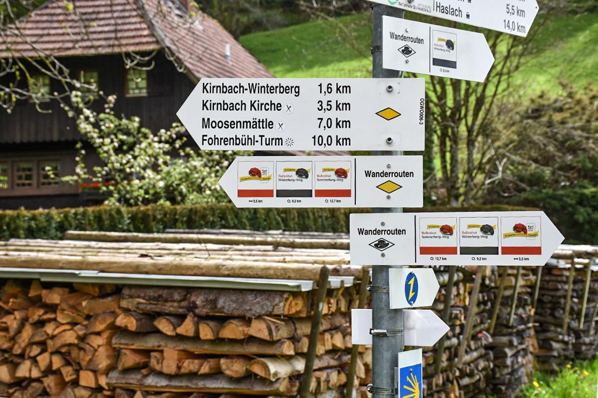 Wandern in Kirnbach