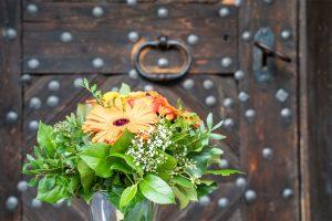 Blumenschmuck auf dem Josenhof