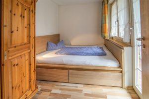 Schlafzimmer- Josenhof Ferienwohnung Waldblick